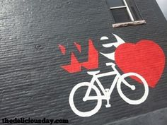 Denver Loves Bikes. www.ochomesbyjeff.com #orangecountyrealtor #jeffforhomes #ilovebikes