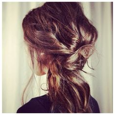 Effortless hair with effortless style.