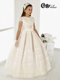 Vestido de comunión Clavel de Carmy