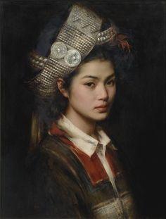 """  Hani girl- Zhang Li - china -"