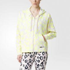 Chaqueta con capucha adidas STELLASPORT - Rosa