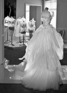 Dior Haute Couture -- Go here for your Dream Wedding Dress and Fashion Gown! https://www.etsy.com/shop/Whitesrose?ref=si_shop