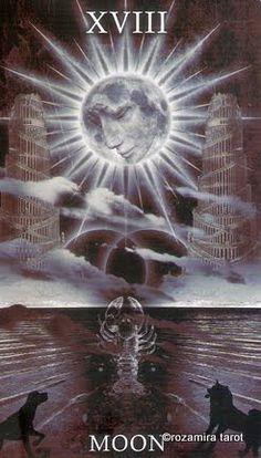 The Healing Light tarot The Moon