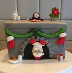 Weihnachtstorte (Spekulatiuskuchen mit Vanille-Zimt-Creme)