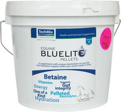 Equine Bluelite Pellets Electrolytes for Horses 5 lb (10 - 20 days)