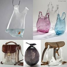 Beautiful Bags of Blown Glass by Anne Donzé and Vincent Chagnon. | http://www.ifitshipitshere.com/anne-donze-and-vincent-chagnon/
