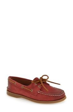 Sperry 'Authentic Original - Weather Worn' Boat Shoe (Women)