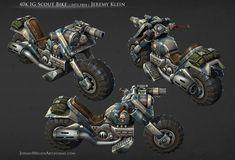 Paint scheme -   Vehicle for: Warhammer 40,000: Dark Millennium