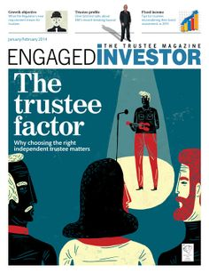 Engaged Investor. www.nbillustration.co.uk/oivind-hovland www.nbillustration.co.uk  #illustration