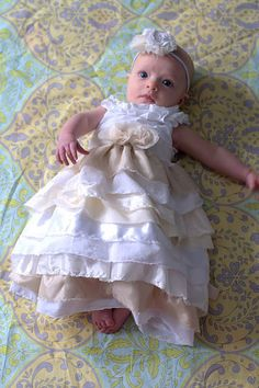 this is the most beautiful infant dress in the world