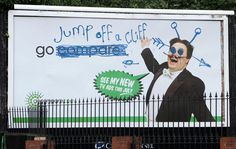 The vandalised Go compare adverts received a lot of social media hits as well as national coverage. Proving that social media can truly help to gain coverage. Apparently the marketing agency did the billboards on purpose with the graffiti - Brilliant! Everyone is talking about Go compare!