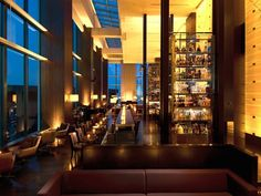 Guests can choose from either sexy velvet lounge seats or sit side by side right in front of the floor to ceiling windows with stunning views of Tokyo skyline right. Description from theluxtraveller.com. I searched for this on bing.com/images