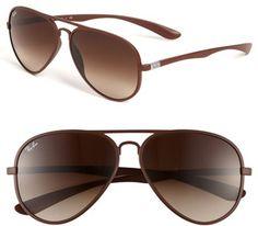 #Ray-Ban                  #Eyewear                  #Ray-Ban #Aviator #Sunglasses #Matte #Brown/ #Brown #Gradient #Size           Ray-Ban Aviator Sunglasses Matte Brown/ Brown Gradient One Size                                         http://www.snaproduct.com/product.aspx?PID=5247273