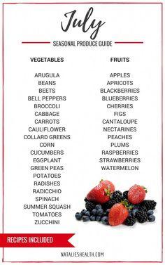 Whats In Season, Clean Eating, Healthy Eating, Healthy Food, Eat Seasonal, Food Charts, Comida Latina, Vegetable Seasoning, In Season Produce