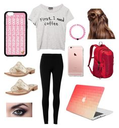 """"""";)"""" by lydonk ❤ liked on Polyvore featuring Max Studio, Jack Rogers, Wet Seal and Patagonia"""
