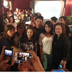 Dara with Director Cathy,Kath,Daniel and bosses of ABS @micodelrosario