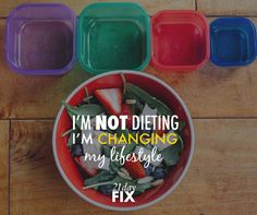 21 Day Fix is about creating healthy habits that stick with you! Plus, you know it's a win when you can still have your chocolate, wine & cheese.