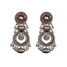 Ayala Bar: Silver Drop Earrings