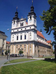 Trnava City in Slovakia