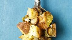 Chestnuts add their distinctive flavor to this simple bread stuffing.