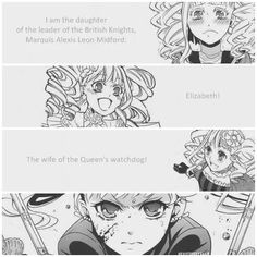 Even though Lizzy turned out to be a badass I still think she mentally to weak to be Ciels wife