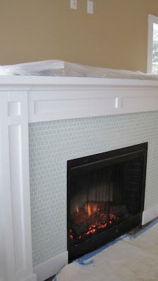 LOVE This Fire Place &&& Mantel