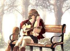 una de las cosas que me gustan es tocar la guitarra y crear canciones