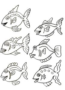 coloring page Fish on Kids-n-Fun. Coloring pages of Fish on Kids-n-Fun. More than coloring pages. At Kids-n-Fun you will always find the nicest coloring pages first! Super Coloring Pages, Dog Coloring Page, Animal Coloring Pages, Coloring Pages To Print, Colouring Pages, Coloring Pages For Kids, Matisse, Rainbow Fish Coloring Page, Star Wars Colors