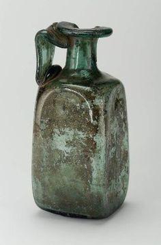 Bottle  Egyptian, Roman Imperial Period, 30 B.C.–A.D. 364