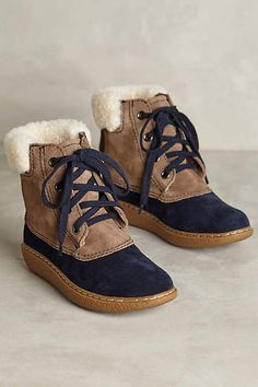 All Black Snow Season Boots - anthropologie.com
