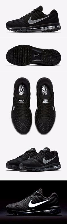 NIKE AIR MAX 2017 MEN'S RUNNING SHOE. Seamlessly designed with support and breathability right where you need it, the Nike Air Max 2017 Men's Running Shoe features a Flymesh upper combined with the plush cushioning of a full-length Max Air unit.