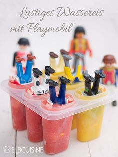 Ice cream, ice cream baby - funny ice cream with Playmobil men for children& birthday - ELBCUISINE Children& birthday is always an exciting event – also culinary. Which birthday cake should Bbq Party, Party Snacks, Baby Birthday, Birthday Bash, Ice Ice Baby, Food Humor, Creative Food, Funny Babies, Diy For Kids