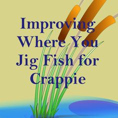 This article discusses what locations on a lake are best to jig fish for crappie, what dept is best to fish for crappie and where crappie are at. Crappie Jigs, Crappie Fishing Tips, Homemade Fishing Lures, Fishing Humor, Fishing Gifts, Best Fishing, Saltwater Fishing, Kayak Fishing, Fishing Places