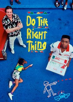 Do the Right Thing (1989) - Director Spike Lee chronicles trivial events that bring festering racial tensions to the surface on a sweltering day in a Brooklyn neighborhood.