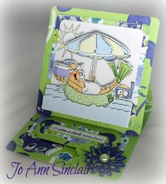 Ai Pop ups Art Impressions card 3d Cards, Pop Up Cards, Paper Cards, Cool Cards, Rubber Stamp Company, Art Impressions Stamps, Hampton Art, Decoupage Paper, Copics