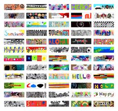Images made by the 3rd graders. 118 images in total! I am really proud of the students of both classes who worked hard on their images for the Billboard Art Project. I love the images: their divers…