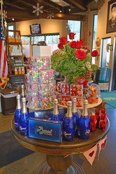 Baci Chocolates and assorted Valentine Sweets here at Joe Leone's
