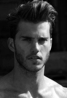 Mens Hair & Beard, model Samuel Finn.
