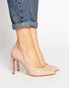 Ted Baker - Neevo 2 - Spitze Pumps in Nude - Nude