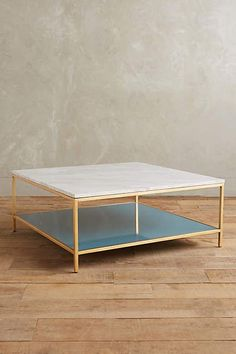 Lindley Marbled Coffee Table - anthropologie.com