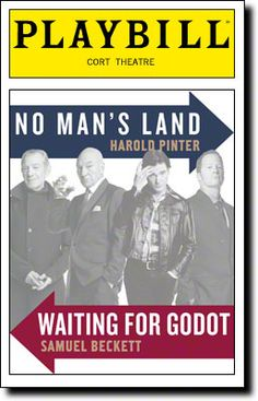 Waiting for Godot (in rep with No Man's Land) starring Patrick Stewart and Ian McKellen begins previews on Broadway tonight