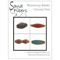 Blooming Beads  Volume One A Sand Fibers For by SandFibers on Etsy, $18.50