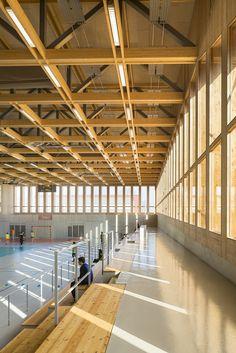 Gallery - Sports Center in Neudorf / Atelier Zündel Cristea - 12