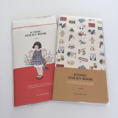 Iconic Sticky Book