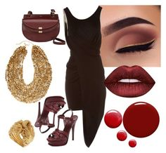 Morgana by glirendree on Polyvore featuring moda, Barbara Bui, Yves Saint Laurent, Chloé, Vanzi, Chico's, Lime Crime, Givenchy and Topshop