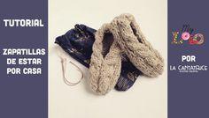 Hoy la Esther, nuestra querida profe de punto que participa al diseño de nuestros kits, nos propone un tutorial para tejer zapatillas de estar por casa. Ha montado un patrón exclusivo con 5 tallas ... Knitting Projects, Slippers, Sewing, Shoes, Fashion, Knit Socks, Shoes And Socks, Home, Knitted Slippers