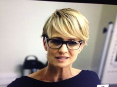House of Cards hair.  I love Robin Wright's look.