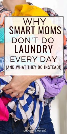 For moms who need laundry help! How to organize laundry routines and get back tons of time. #handlinghomelife