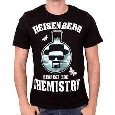 T-shirt Breaking Bad Respect The Chemistry