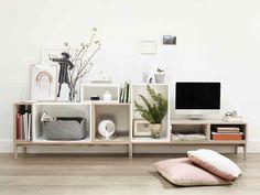 Scandinavisch tv-meubel van Muuto: Stacked